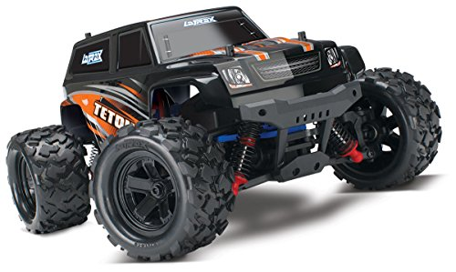 Traxxas 1/18 LaTrax Teton 4X4 Electric Monster Truck with TQ 2.4GHz Radio, Orange
