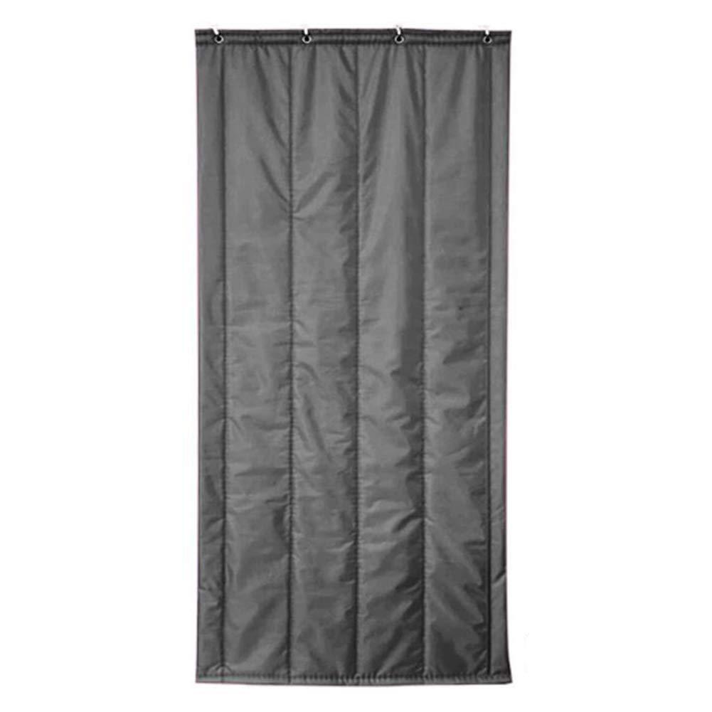 WUFENG Thermo-Türvorhang Baumwolle Warm Halten Winddicht Abgeschnitten Wasserdichter Vorhang 4 Farben Mehrere Größen Anpassbar (Farbe   A, größe   100x200cm)