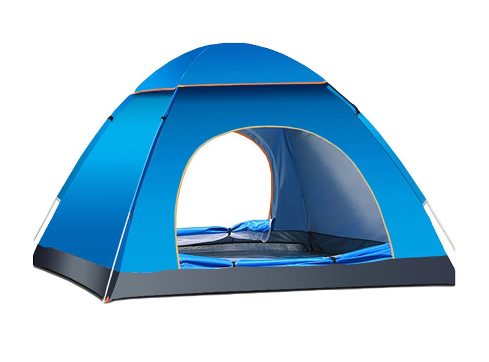 King Ma 3-4 person Family Camping Backpacking Tent (blue) 141[並行輸入]   B01H6COXZC