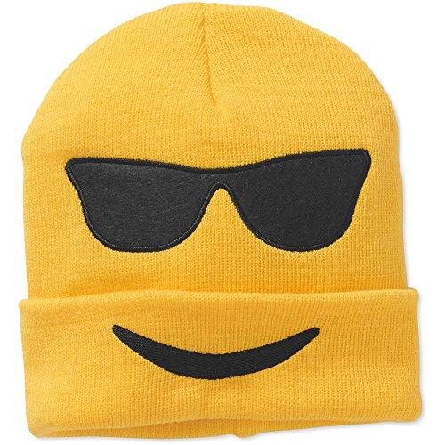 Emoji Beanie (Sunglasses) - Costumes Emoji Sunglasses