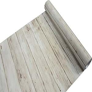 Forro para estante r stico de madera de papel de contacto - Papel autoadhesivo para muebles ...