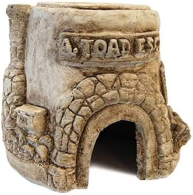 Athens Toad House Statue