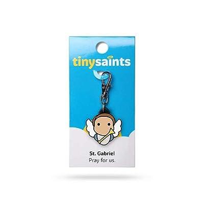 NDC St.Gabriel Tiny Saints Charm: Jewelry