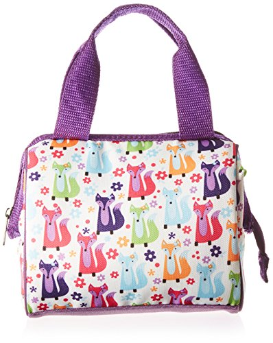 fit-fresh-kids-riley-insulated-lunch-bag-with-zipper-cute-school-lunch-box-for-girls-foxy-meadow