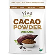 Viva Naturals #1 Best Selling Certified Organic Cacao...