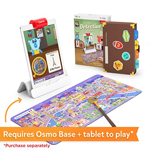 Osmo Detective Agency: A Search & Find Mystery Game That Explores The World! (Base Required) by Osmo (Image #1)