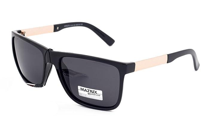 Matrix Drive - Gafas de sol - para hombre Negro negro M ...