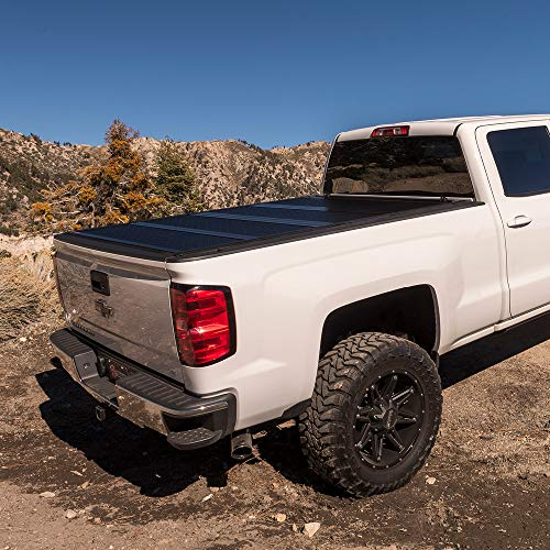 "BAK BAKFlip G2 Hard Folding Truck Bed Tonneau Cover | 226120 | Fits 2014-18, 19 Limited/Legacy GM Silverado, Sierra: Limited/Legacy; 2014 1500, 15-19 ALL 5'8"" Bed"