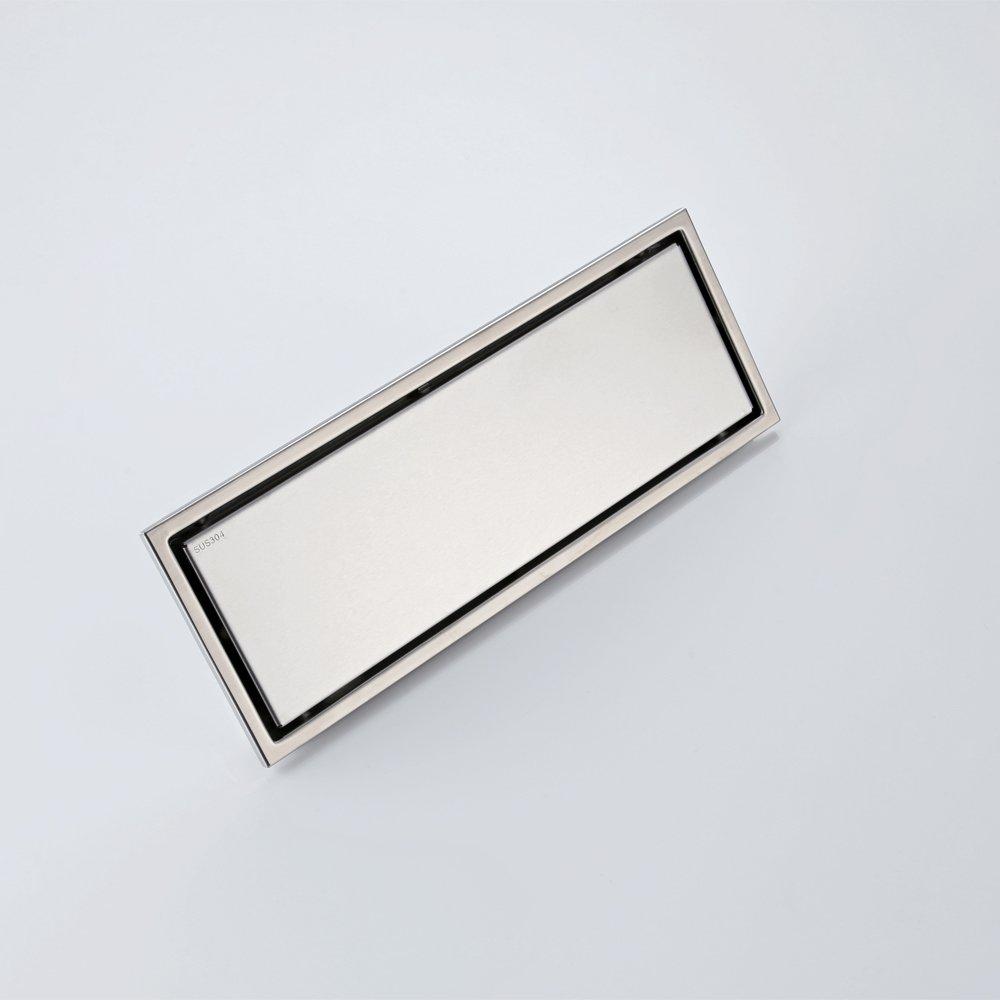 Desag/üe para ducha con tapa extra/íble de acero inoxidable Essentials Umi