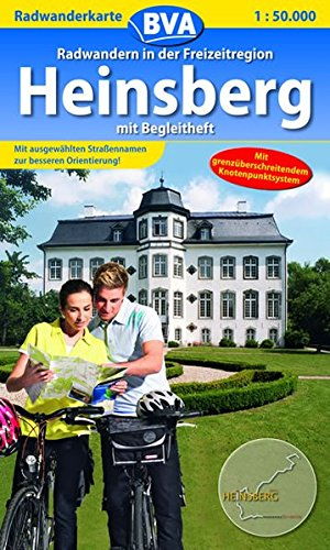 Radwanderkarte BVA Radwandern in der Freizeitregion Heinsberg 1:50.000: mit Begleitheft (Radwanderkarte 1:50.000)