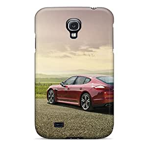 Tpu JETcases Shockproof Scratcheproof Red Porsche Panamera Hard Case Cover For Galaxy S4