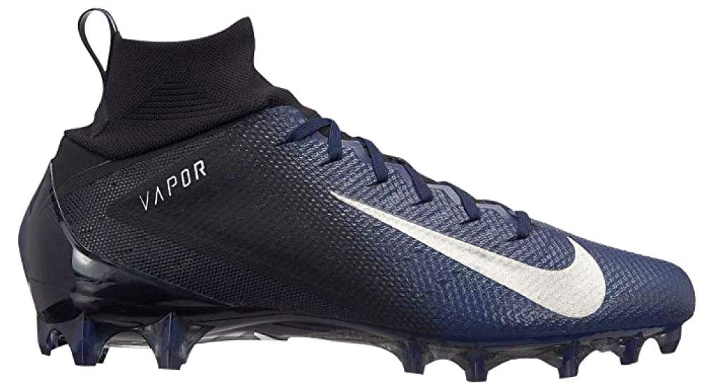 Nike Vapor Untouchable Pro 3 Mens Football Cleats (8, Black/Navy)