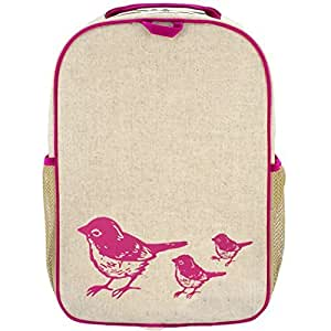 SoYoung Grade School Backpack, Pink Birds