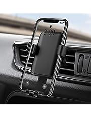 Warxin Porta Cellulare da Auto, Supporto Smartphone per Auto [Design Compatto] [Palla Rotante] Durevole gravità Porta Telefono per Auto Ventilazione Universale per iPhone Huawei Xiaomi Smartphone ECC