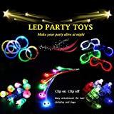 Acmee 30 Pieces LED Light Up Party Favor Toy Set.LED Party Pack LED...