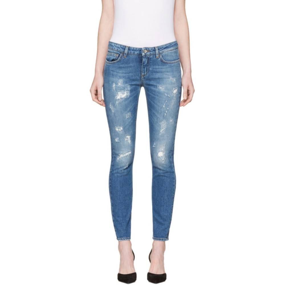 (ドルチェ&ガッバーナ) Dolce & Gabbana レディース ボトムスパンツ ジーンズデニム Blue Pretty Fit Jeans [並行輸入品] B0762YZNV5
