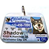 Oklahoma State Drivers License Personalized for Dog's... promo code 2017