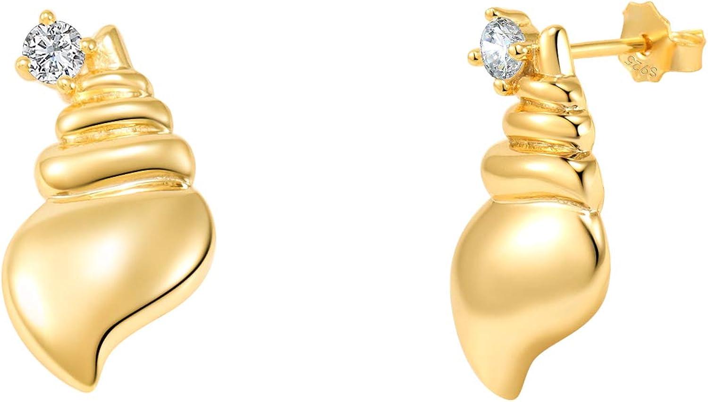 14k Solid Gold Multi-Cut Stud Earrings,Small Minimalist Earrings,Dainty Earrings
