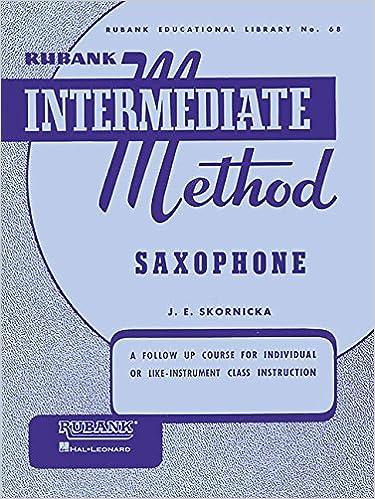 Instruction Books, Cds & Video Saxophone Wind & Woodwinds Rubank Elementary Method
