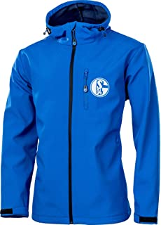 FC Schalke 04 Jacke Softshell grau