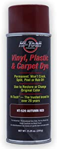 Hi-Tech Autumn Red Vinyl Plastic & Carpet Aerosol Dye