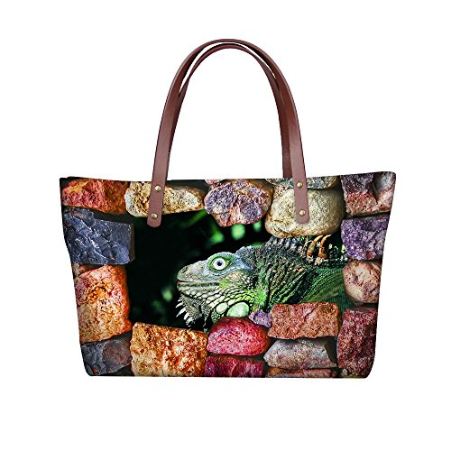 Bages Bags Tote School C8wcc5087al Women Animals Print FancyPrint U6wqpv6
