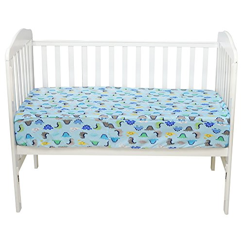 Brandream Baby Crib Bedding Dinosaurs Crib Fitted Sheets 100