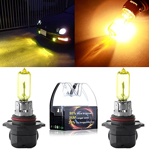 yellow 9005 headlight bulbs - 3