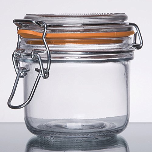 Medallion TOP QUALITY Smell Proof Airtight Glass Tobacco Herb Coffee Container Jar (Small Glass Jars For Herbs compare prices)