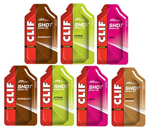 CLIF Shot Energy Gel 7-er Testpaket 7 x 34 Gramm