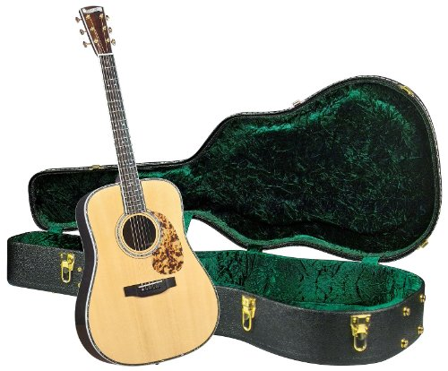 Adirondack Dreadnought Acoustic Guitar - Blueridge BR-180A Historic Craftsman Series Dreadnought Guitar with Deluxe Hardshell Case