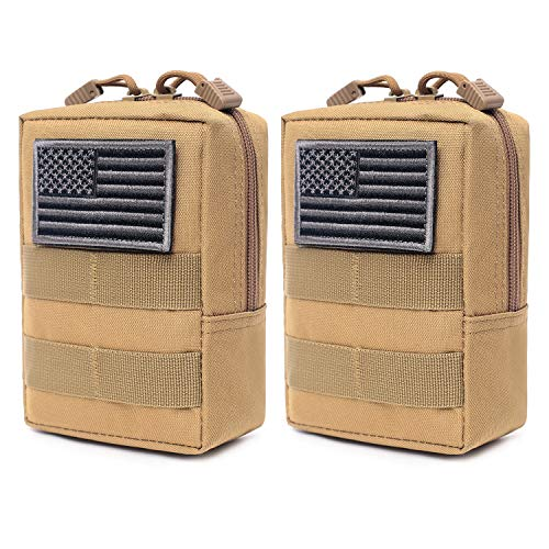 2 Pack Molle Pouches