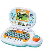 VTech 80-139504 Leren en muziek laptop, blauw