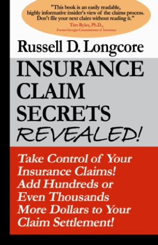 Amazon insurance claim secrets revealed ebook russell d insurance claim secrets revealed by longcore russell d fandeluxe Gallery