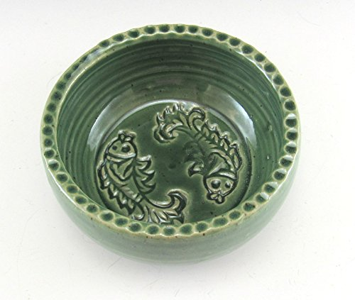Cat Bowl /Pet Food Dish/ Food Bowl for Kitty by Anne Marie's Pottery and Handmade Gifts