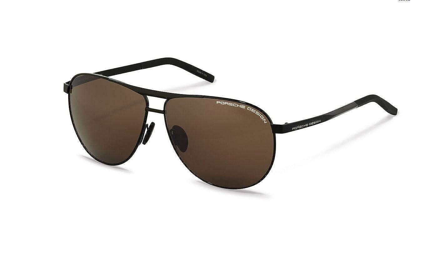 Authentic Porsche Design P 8642 A Black Sunglasses