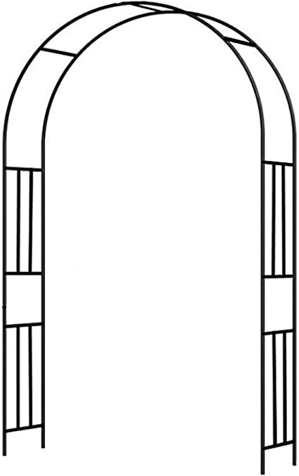 Arcos para Jardin, Arco De Rosa, Cenador De Pérgola De Metal, para Varias Plantas Trepadoras Arco De Jardín De Bodas Decoración De Fiesta Nupcial Cenador Ancho: Amazon.es: Hogar