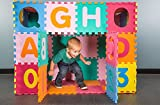 IncStores Medium 64 Piece ABC-123 Interlocking Foam Playmat Review
