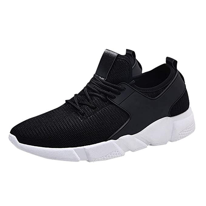 bd010cd39f8b9 Amazon.com: refulgence Men Breathable Sneakers Lightweight Comfy ...