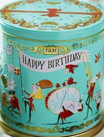 Fortnum & Mason Birthday Biscuit Selection Tin 450g by Fortnum & Mason (Image #2)