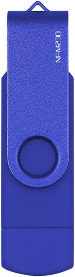 USB Flash Drive OTG high Speed Drive,128GB 64 GB 32 GB 16 GB 8 GB 4GB Memory Optional External Storage Double Application Micro USB Stick,Black,128GB
