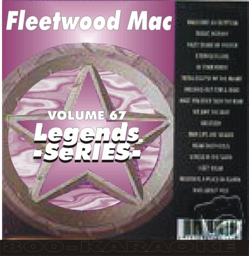 Fleetwood Mac 17 Song Karaoke CD+G Legends #67