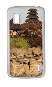Bali Island Temple of The Sea Case for Google Nexus 4 PC White by Cases & Mousepads