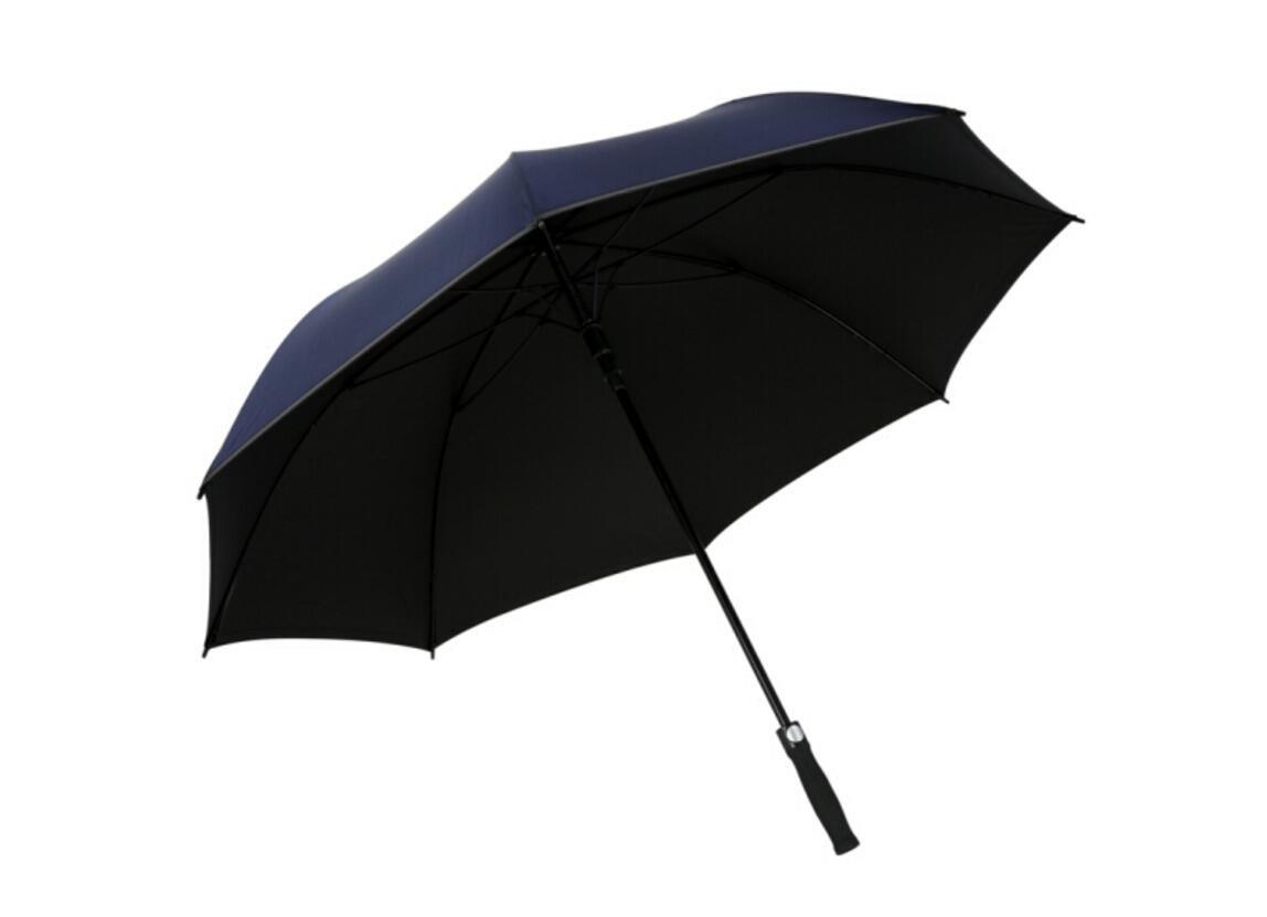 paraguas Fibra de carbono impacto negro plástico abierto negocios paraguas recto sombrilla (Color : #1): Amazon.es: Deportes y aire libre