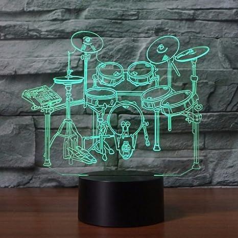 3d Rack batería lámpara de luz nocturna óptico Luz nocturna ...
