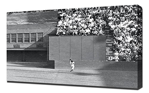 Lilarama USA Willie Mays World Series 1954 - Canvas Art Print - Wall Art - Canvas Wrap 1954 World Series Canvas