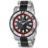 Calibre Men's SC-5H1-04-007.4 Hawk Date Analog Display Quartz Silver Watch