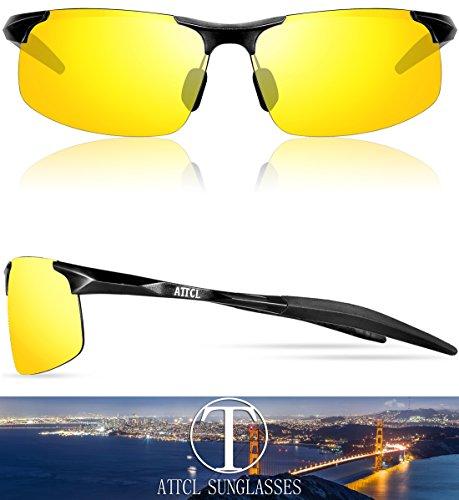 19007485da ATTCL Men s HOT Fashion Driving Polarized Sunglasses for Men Al-Mg metal  Frame 8177-yeshi