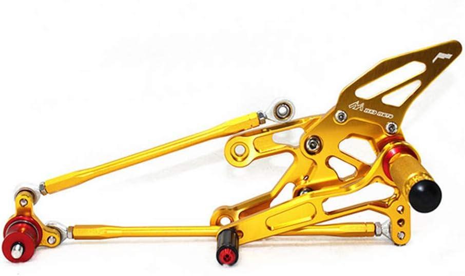Rearsets Rear Sets Footpegs CNC Adjustable For Honda CBR600RR 2003 2004 2005 2006 CBR1000RR 2004-2007