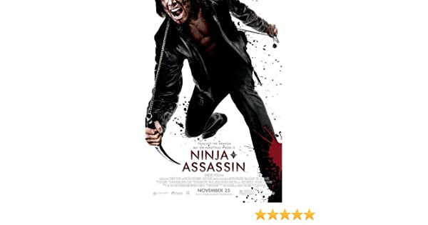 Ninja Assassins Movie Poster Double Sided Original 27x40